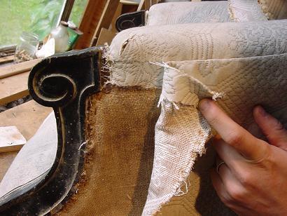 Les tapes for Comment restaurer un fauteuil